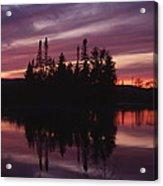 Lake Adirondack Acrylic Print