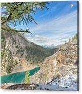 Lake Agnes - Lake Louise - Canada Acrylic Print