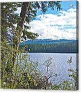 Lake Alva From National Forest Campground Site-yt Acrylic Print
