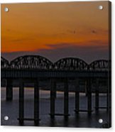 Lake Amistad Sunset Acrylic Print