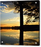 Lake At Sunrise Acrylic Print