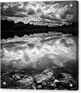 Lake Auburn Twilight Acrylic Print