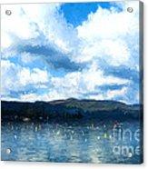 Lake Background Acrylic Print