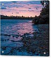 Lake Bailey Sunset Acrylic Print