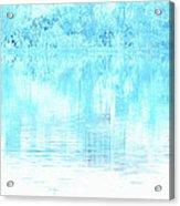 Lake Blue Acrylic Print