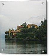 Lake Como No. 1 Acrylic Print