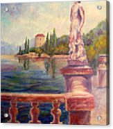 Lake Como View Acrylic Print