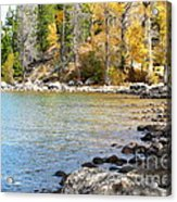 Lake Cove Acrylic Print