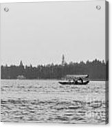 Lake Crossing Acrylic Print