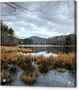 Lake Crowders Mountain Acrylic Print