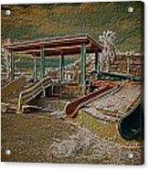 Lake Delores Water Park Acrylic Print