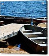Lake Dock Acrylic Print