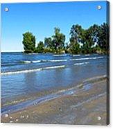Lake Erie At Sheldon Marsh 2 Acrylic Print