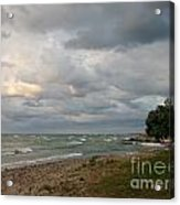 Lake Erie Shore Line II Acrylic Print