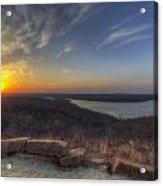 Lake Eufaula Sunrise A Acrylic Print