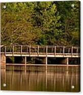 Lake Forest Bridge Acrylic Print