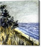 Lake From The Dunes Acrylic Print