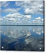 Lake Full Of Clouds Acrylic Print