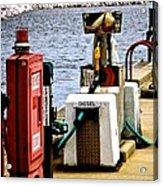 Lake Gas Depot Acrylic Print