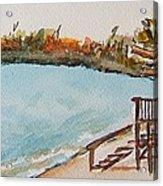 Lake Geneva Shoreline Acrylic Print