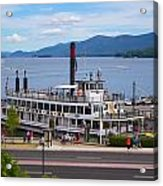 Lake George Cruise Acrylic Print