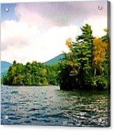 Lake George Islands In Summer Acrylic Print