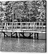 Lake Greenwood Pier Acrylic Print