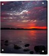 Lake Herman Sunset Acrylic Print
