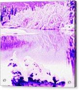 Lake And Ice Acrylic Print