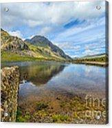 Lake Idwal Acrylic Print