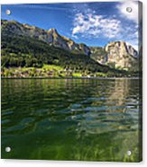 Lake In High Mountains Acrylic Print