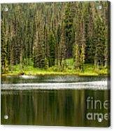 Lake In Mt Rainer National Park Acrylic Print