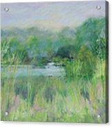 Lake Isaac Impressions Acrylic Print
