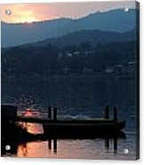 Lake J Sunset Acrylic Print