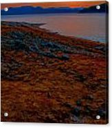 Lake Jocassee Sunrise Acrylic Print