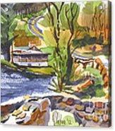 Lake Killarney Impressions Ironton Missouri Acrylic Print
