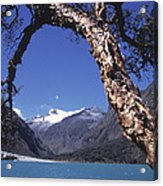 Lake Llanganuco Peru Acrylic Print