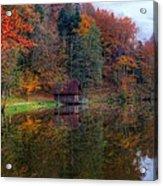 Lake Lodge Acrylic Print