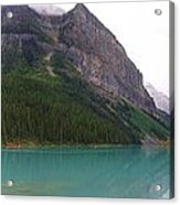Panoramic Lake Louise, Alberta - Morning Reflections Acrylic Print