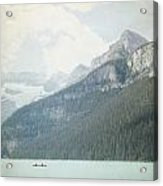 Lake Louise Solitude - Alberta Canada - Square Acrylic Print