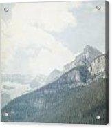 Lake Louise Solitude - Alberta Canada Acrylic Print
