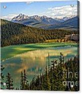 Lake Louise Acrylic Print