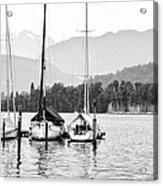 Lake Lucerne Switzerland  Acrylic Print by Nian Chen