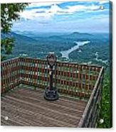 Lake Lure Overlook Acrylic Print