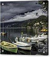 Lake Maggiore Ascona Acrylic Print