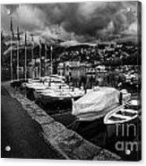 Lake Maggiore Bw 1 Acrylic Print