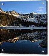 Lake Mary Brighton Utah Acrylic Print