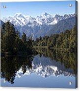 Lake Matheson New Zealand Acrylic Print