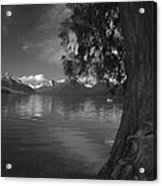 Lake Mcdonald In The Spring Acrylic Print
