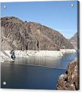 Lake Mead At Hoover Dam 2 Acrylic Print